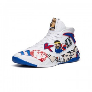 Anta KT6 Klay Thompson 2021 Winter Special Edition High Top Basketball Sneakers