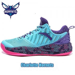 Anta 2018 Men's NBA Charlotte Hornets Basketball Sneakers