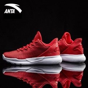 Anta 2018 KT Klay Thompson Men's Basketball Shoes - Red/White