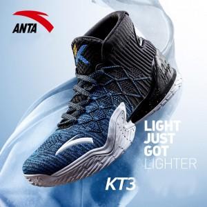 "Anta 2018 Klay Thompson KT3 NBA Playoffs ""Away"" - Black/Blue [11821101-4]"