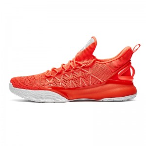 Anta 2018 KT3 Light Klay Thompson NBA Basketball Shoes - Red/White [11821166-3]