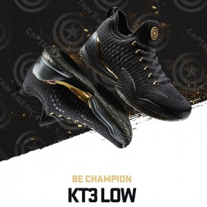 Anta x Marvel Avengers Klay Thompson 2018 NBA KT3 Final Low Basketball Sneakers - Be Champion