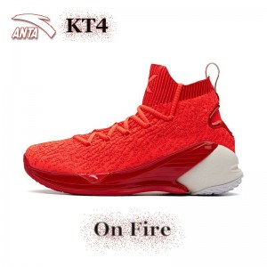 "Anta KT4 Klay Thompson Men's Basketball Sneakers - "" On Fire """