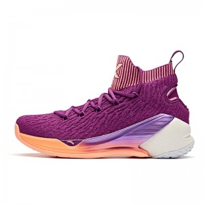 Anta 2019 Klay Thompson KT4 Men's Basketball Shoes - Purple [11911101-3]