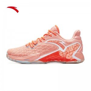 2019 Summer Anta Rajon Rondo RR5 NBA Basketball Shoes - Pink/Orange