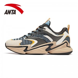 Anta 2019 Spring New Men's Stylish Retro Running Sneakers | Anta Daddy Casual Shoes