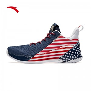 """Anta KT4 Klay Thompson Final Low """"Independence Day"""""""