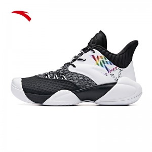 "Anta 2019 Klay Thompson KT4 ""Shock The Game"" High Basketball Shoes - Black/White"