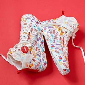 "Anta X Coca-Cola 2020 Women's Canvas shoes ""COCA-COLA"""