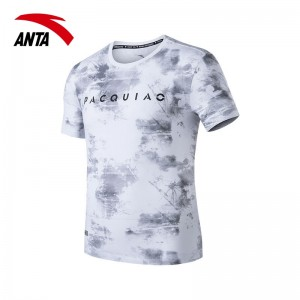 2018 Anta x Manny Pacquiao Personality Men's T-shirts - White