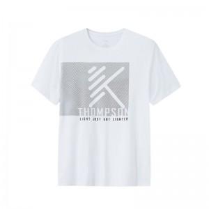 Anta 2019 KT Klay Thompson Men's Basketball T-shirts - White