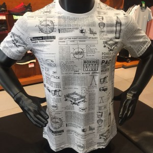 2019 Summer Anta x Manny Pacquiao Personality Men's T-shirts - White