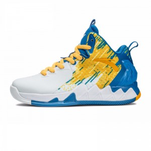 "Anta Klay Thompson KT2 Kids ""Blazing 3"" Home Basketball Shoes"