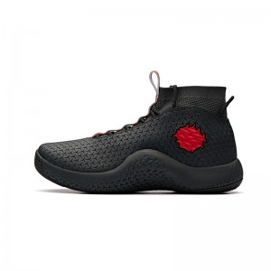 Anta 2018 NBA 72th Anniversary Men's Basketball Shoes - Black