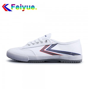 Feiyue 2017 New Low Fashion Canvas Lover's Shoes - White Lightsaber