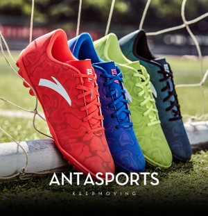 Anta Men's Training Soccer Shoes Professional Football Shoes