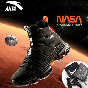 Anta X NASA Seeed 60th Anniversary Men's Basketball Casual Sneakers - 'MARS'