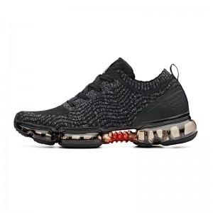 "Anta x NASA SEEED ""Zero Bound"" Men's Cushion Running Sneakers- Black [91835507-1]"