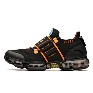 "Anta X NASA SEEED Series ""Zero Bound"" NASA 60th Anniversary Men's Running Shoes - Black/Orange"