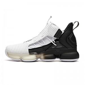 Anta 2018 High Tops Men's Basketball Sneakers - White/Black