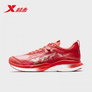Xtep 2021 New 160X Marathon Professional Racing Shoes - Red