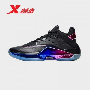Xtep X Jeremy Lin 游云 IV Dragon TOTEM Basketball Sneakers - Black/Purple