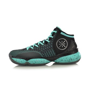 Li Ning 2017 Wade The Sixth Man II Men's Basketball Shoes - Green/Black