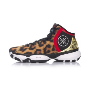 "Li Ning 2017 Wade The Sixth Man II Mens Basketball Shoes - ""Leopard"""