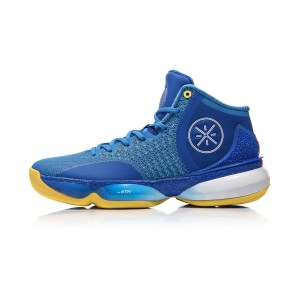 Li Ning 2017 Wade The Sixth Man II Men's Basketball Shoes - Blue/White