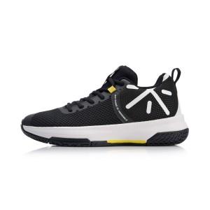 Way of Wade 2018 Li-Ning Cloud Cushioning Men's Professional Basketball Game Sneakers - Black/White [ABAN063-1]