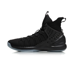 "Li-Ning ""Phoenix Dancing"" Feng Wu 凤舞 Men's Sock-like Basketball Sneakers - Black"