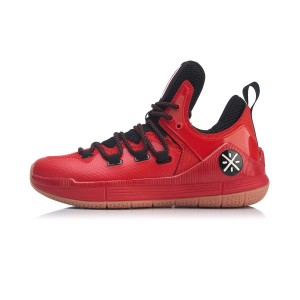 Way of Wade Sixth Man 2019 Men's Low Professional Basketball Match Shoes - Red/Black