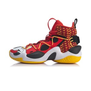 Li-Ning 2020 New POWER VI V2 Premium Men's Basketball Sneakers -  Red/Black