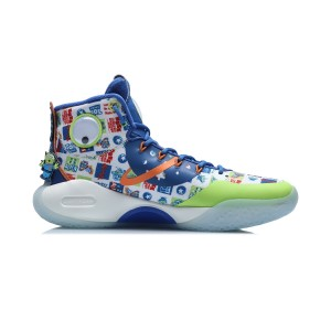 Disney TOY Story X Li-Ning Yushuai XIV Men's High Top Basketball Game Shoes
