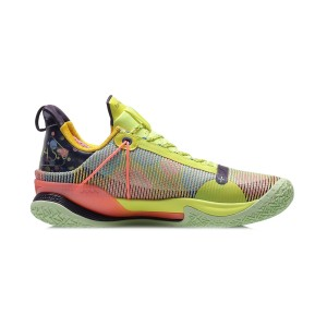 Li-Ning 2020 SPEED VII Premium Men's Professional Basketball Competition Sneakers - Christmas