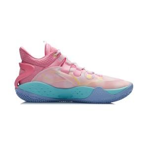 Li-Ning 2021 Sonic 9 Low Men's Professional Basketball Game Sneakers - Pink