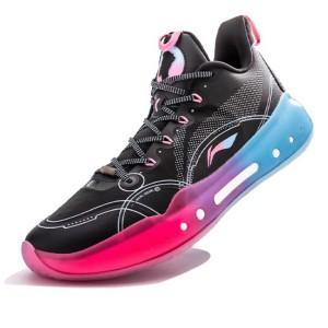 Li-Ning 2021 YUSHUAI XIV 14 Low BOOM Jimmy Butler PE Basketball Competition Sneakers - Black/Blue/Pink