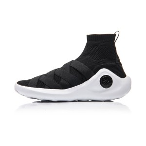 2018 Li-Ning Wade X Essence High Top Men's Stylish Basketball Culture Shoes - Black [ABCM067-1]