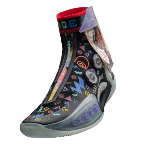 """Way of Wade 9 Infinity """"MOMENT"""" High Top New Design Basketball Sneakers"""
