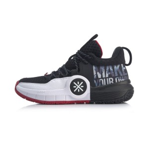 Way of Wade 2019 All Day-4 Men's Basketball Shoes - Black/White