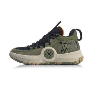 Way of Wade 2019 All Day-4 Men's Basketball Shoes - Green/Black