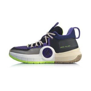 Way of Wade 2019 All Day-4 Men's Basketball Shoes - Black/Purple
