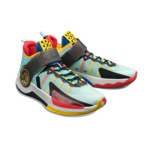 Li-Ning 2021 Way of Wade Fission VII Professional Basketball Game Shoes - Blue