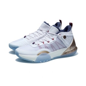 Way of Wade 2021 All Day 6 V2 Men's Basketball Court Shoes - White/Blue/Gold