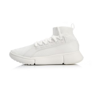 2018 NYFW Essence 2.0 II WS CHILL Li-Ning Men's Mid Basketball Casual Sneakers - White [AGBN057-1]