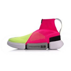 Li-Ning Paris Fashion Week Essence 2.0 Women's Basketball Culture casual Sneakers