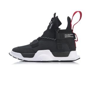 2019 Spring New NYFW X China Li-Ning Series Reburn WS Basketball Casual Shoes - Black/White