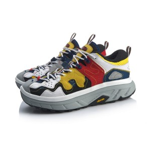 China Li-Ning 2020 Paris Fashion Week Show Series - 2020 ACE Low Men's Basketball Casual Shoes - Black/Yellow/Red