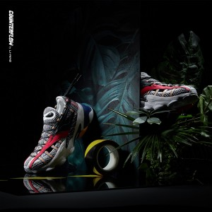 "2019 Spring Li-Ning COUNTERFLOW ADAM ""鳄鱼"" Men's Fashion Casual Sneakers - Art of Attact [AGCP165-5]"
