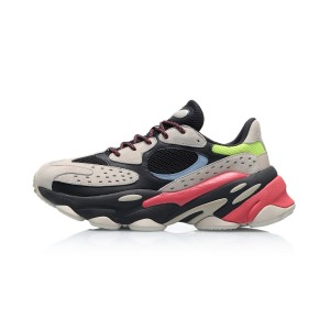 "Li-Ning 2019 Spring ""ALIEN星际"" Men's Retro Daddy Shoes - White/Black/Grey/Red"